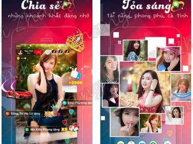 Live Streaming: Vivu Live: Chơi game cùng Idol