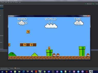 Mario Clone Game I Created for PC and Android.