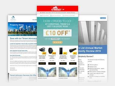 HTML Email Newsletter
