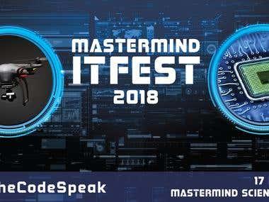 Mastermind IT FEST 2018 Banner