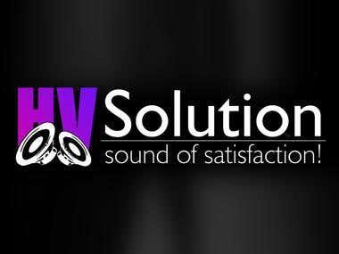 Logo Design for HV Solution