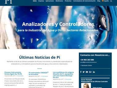 Process Instruments website