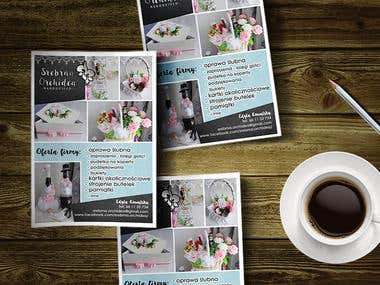 Flyers for Wedding Company