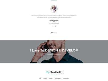 Perso. - Personal Portfolio Template
