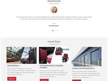Website for Lake Travis