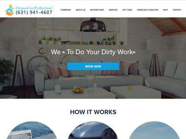 House Cleaning Website by Wordpress