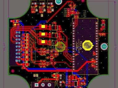Printed circuit board for industrial sensing