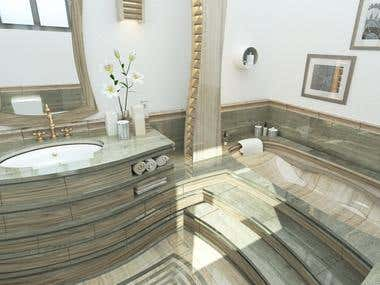 Creative Bath room