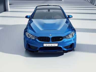 BMW M4 GTS Render