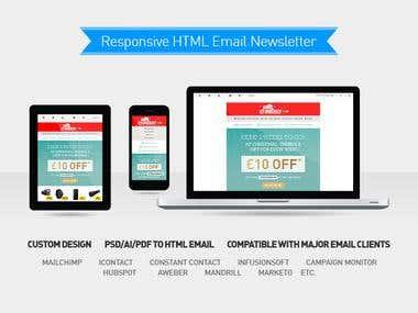 Responsive HTML Email Newsletter