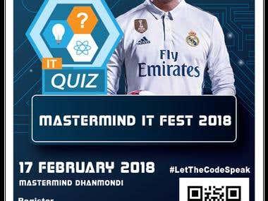 Mastermind IT FEST 2018 Junior Poster