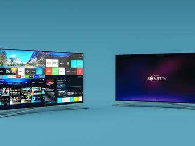 Samsung Smart TV Render