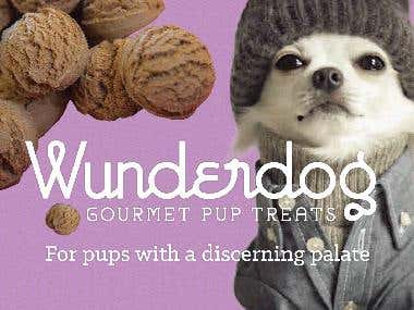 Dog Treats - Company Name, Tagline, Copywriting, Branding