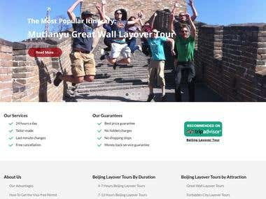 Wordpress Tour Site
