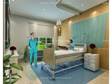 hospital and clinic interior design