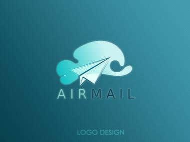 Logo design - Sky blue