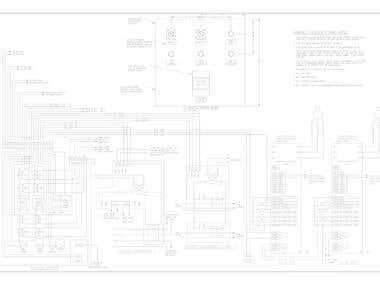 Custom Control Panel, Ladder Logic, Wiring Diagrams