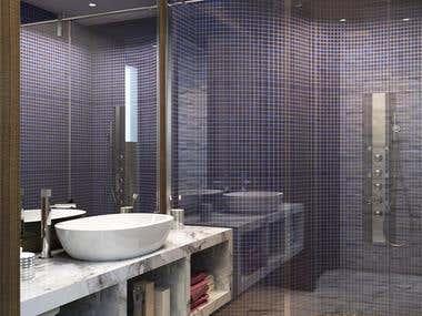 Bath room design