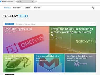 Follow Tech webiste