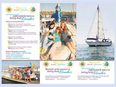 Yachting Cruises 3 Fold Flyer