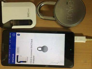 Noke Lock & Breath analyser