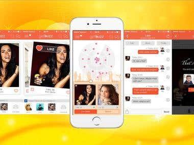 Dating App(Similar Tinder)