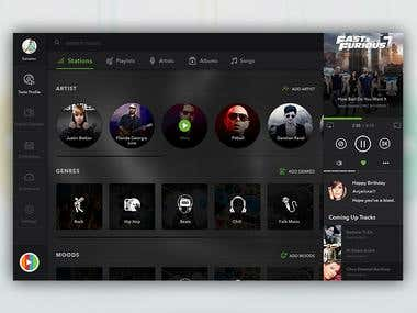 Live Streaming Music Website