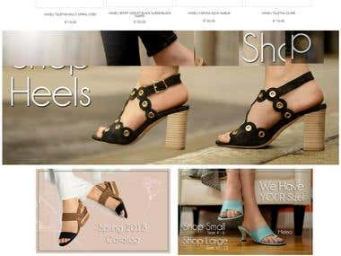 Shoes Website