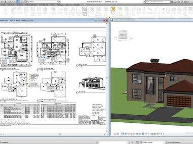 REVIT ARCHITECTURE & MEP DESIGN
