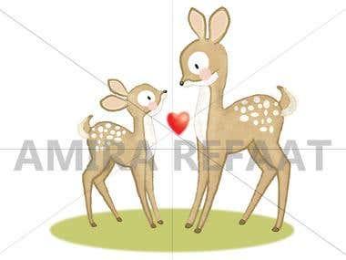 Cute Illustration animal2