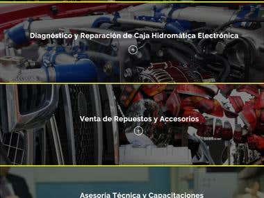 Web de Mundo Servicio Povea Car