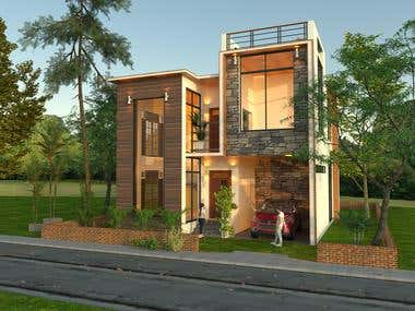 Sketchup 3d Rendering with Vray