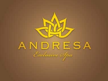 Logo design for a Spa