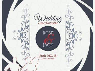 INVITATION / WEDDING CARD DESIGN