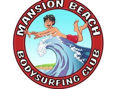 Bodysurfing Club Logo