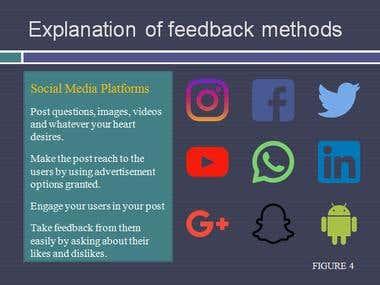 Methods of Getting User Feed Back