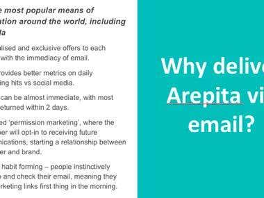 Arepita Presentation