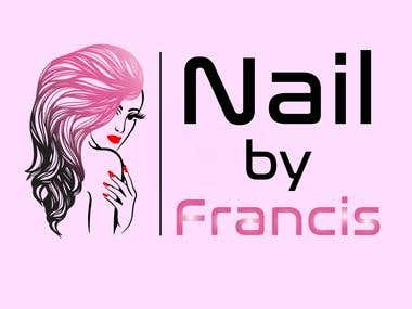 Logo for Nail by Francis.