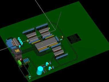 MICROBOT TEC MOVER BOARD