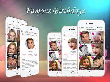 Famous Birthdays