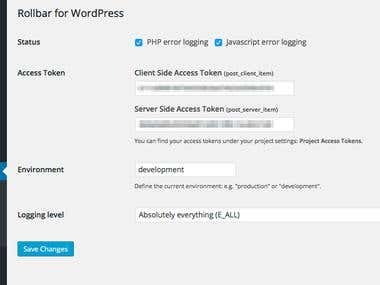 Building Wordpress, Laravel, Monolog and Symfony 3 plugins