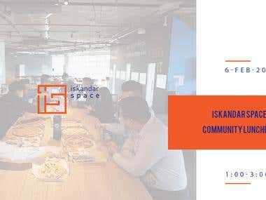 Iskandar Space Community Luncheon