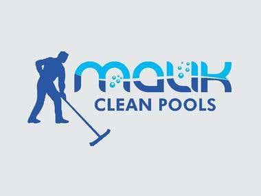 Logo For Malik Pools