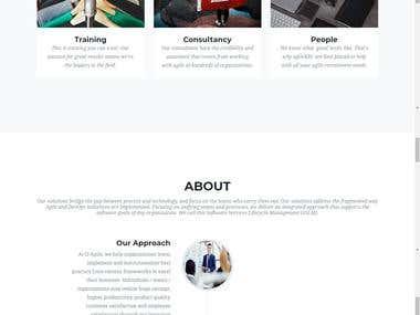 Website Design www.qagile.co.uk