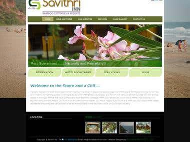 Varkala Savithri Inn Website