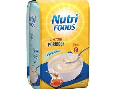 02269 - Nutrifoods Instant Porridge Packaging
