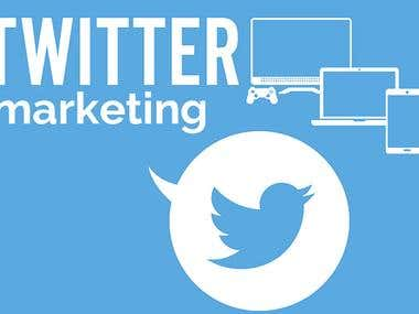 Twitter Marketing & Managment