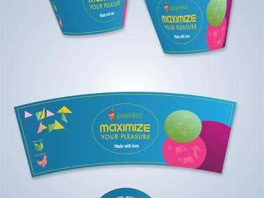 bucket print design