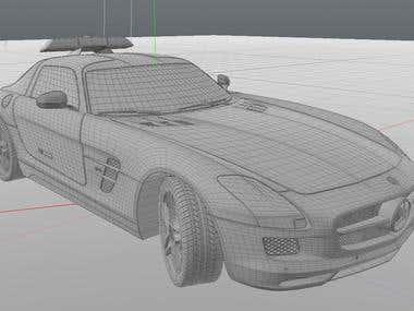 SLS AMG Safety car