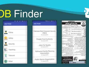 Job Finder Application